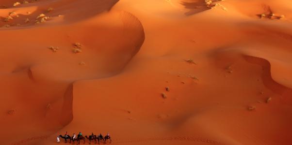 maroc vue du ciel