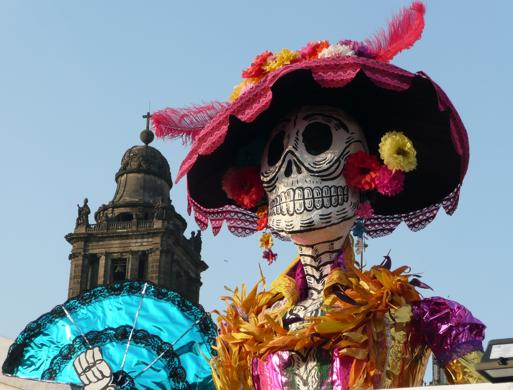 fete des morts mexique