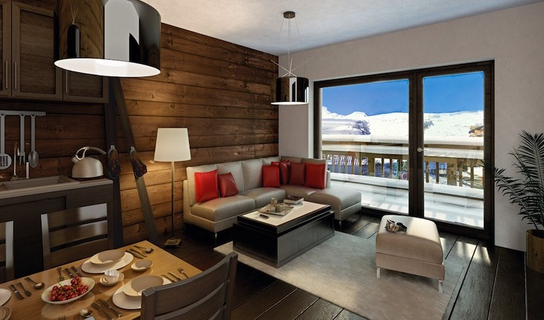 appartement ski montagne