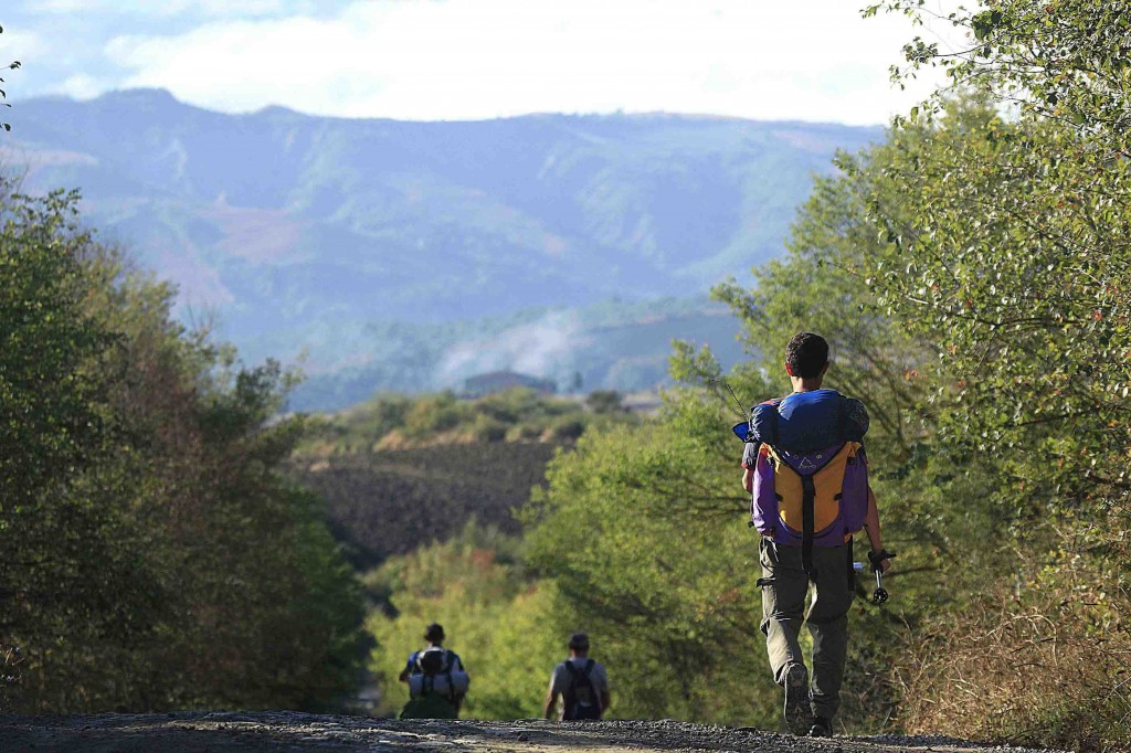 slow travel randonnées