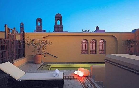 Un bel hotel de marrakech
