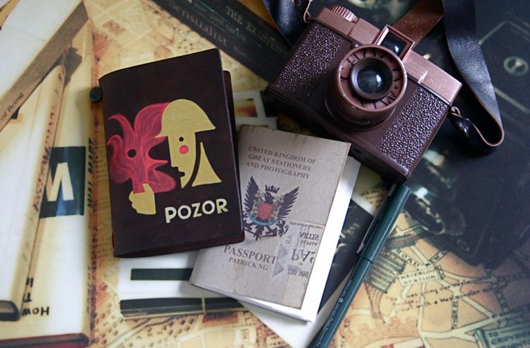 Voyage tour du monde appareil photo et passeport