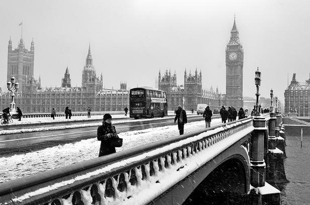 Londres l'hiver